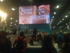 LA Fit Expo, Pumped up Pancakes, Quest, Billy Blanks, Body Beast for Women