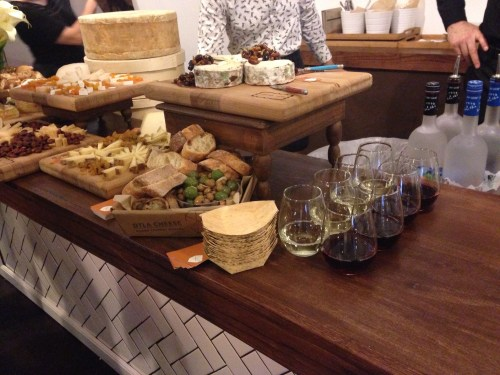 The Vanity Fair Social Club, T'Nique Jones, L'oreal, wine and cheese, WeWork in Hollywood