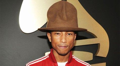 a023ca1f37d 2014 Grammys Pharrell Williams Hat Albert Einstein Hair