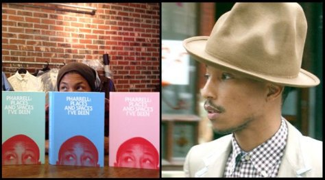 Pharrell Book and Hat