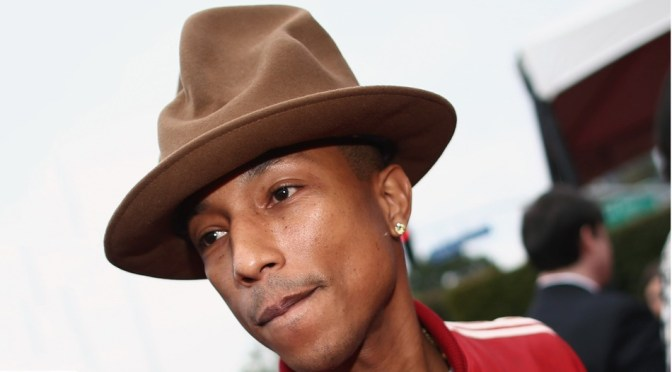 2014 Grammys <br>Pharrell Williams Hat <br>Albert Einstein Hair