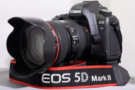 Setting up the Canon 5D MK II as a movie camera.
