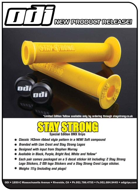 STAY STRONG/ODI Special edition grips
