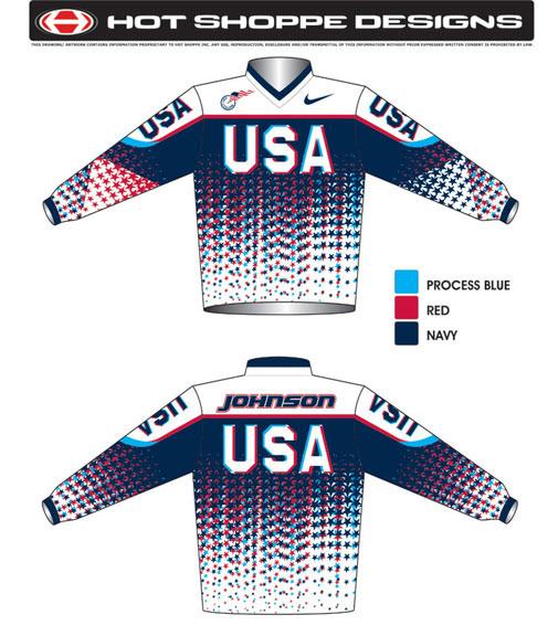 USA BMX Team Jersey 2009