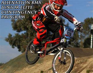 Alienation BMX Junior Elite Contingency Program