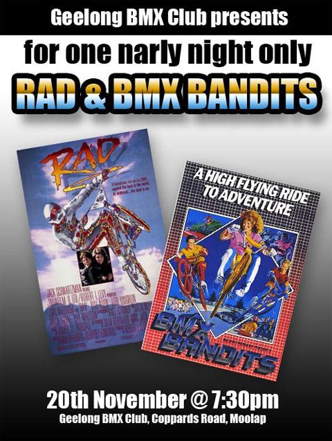 Rad and BMX Bandits screening