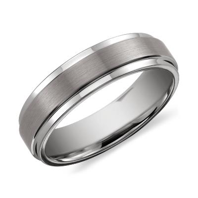 brushed polished comfort wedding ring black tungsten tungsten carbide wedding rings Need Help