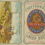 Leaflet advertising the Austro-Bavarian Lager Brewery, London.