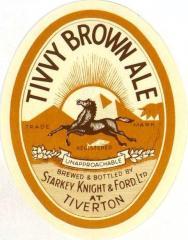 SK&F Brown Ale label, 1948.