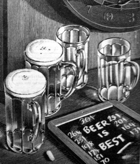 Beer is Best poster, 1937 (detail)