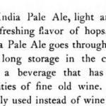 Old Beer Descriptors: 'Winey'