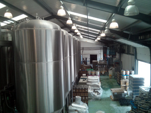 Thornbridge Brewery as it looked in 2013.