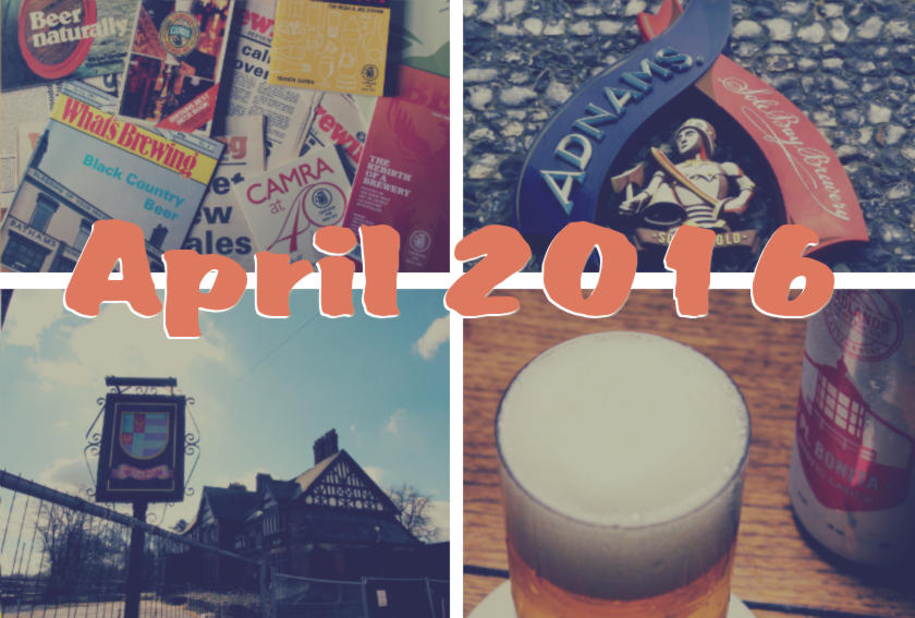 The Month That Was: April 2016