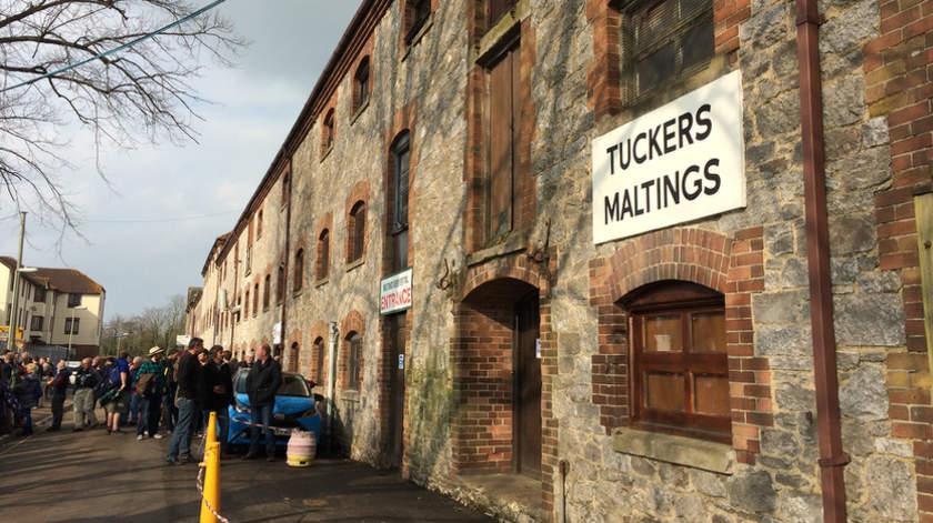 Tucker's Maltings Beer Festival, At Last