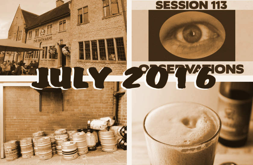 The Month That Was: July 2016 — Classic Pubs, New Wave Bitter, The Somme