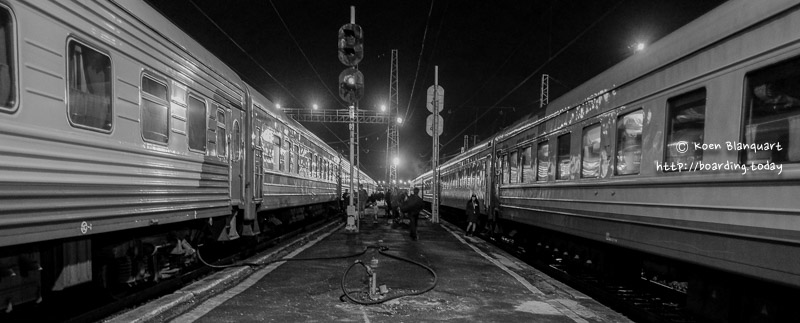 Trans Siberian Railway – Part 1 – Moscow to Yekaterinburg