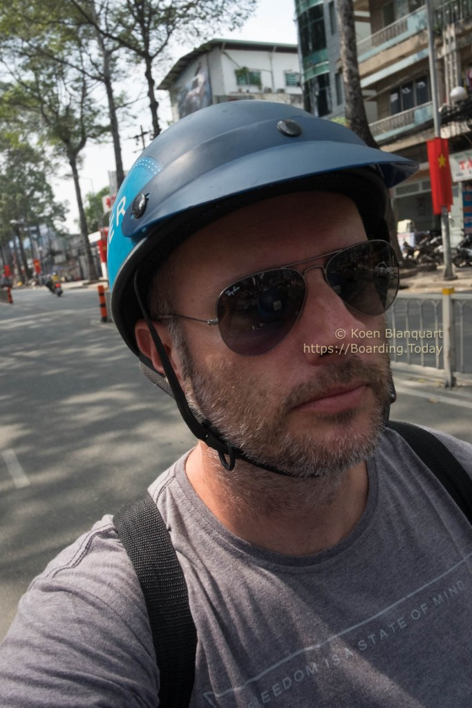 20170120-DSCF5345Ho Chi Minh City, Motor taxi, Saigon, Saigon_Food_Tour, scooter, Uber, Vietnam by Koen Blanquart for Boarding.Today.jpg