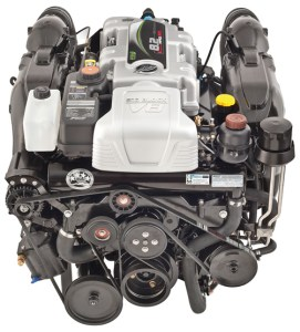 MerCruiser's second-generation 8.2L V8 is available in 380 and 430 hp configurations.