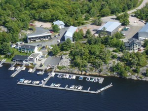 Payne Marine's 52-year-old full-service marina on the shore of Georgian Bay is the first dealership to be accessed the water when entering the Pointe-au-Baril area.