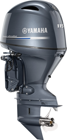 Yamaha's New F115 Outboard (Photo: Business Wire)