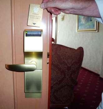 Keycard lock