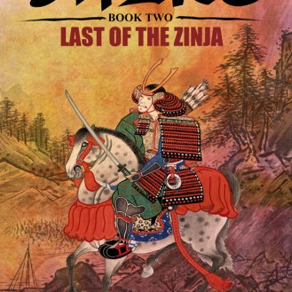 "bc cover art: ""Shike - Book Two - Last of the Zinja"" by Robert Shea"