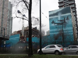 Wyland mural: going, going...