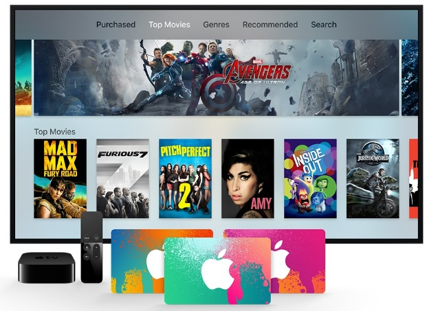 There's a new warning on Apple's iTunes gift card page. (Click for site)