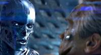 Schwarzenegger está bem lutando com ele mesmo 30 anos mais novo no meio de uma trama co-estrelada por um super vilão e a volta do T-1000!