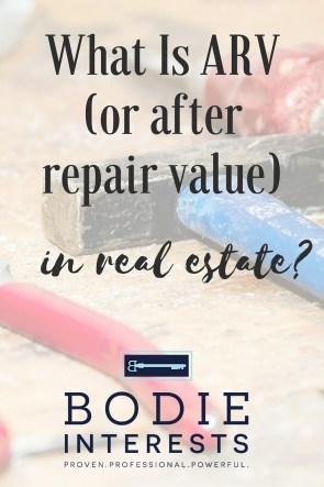 What Is ARV In Real Estate-