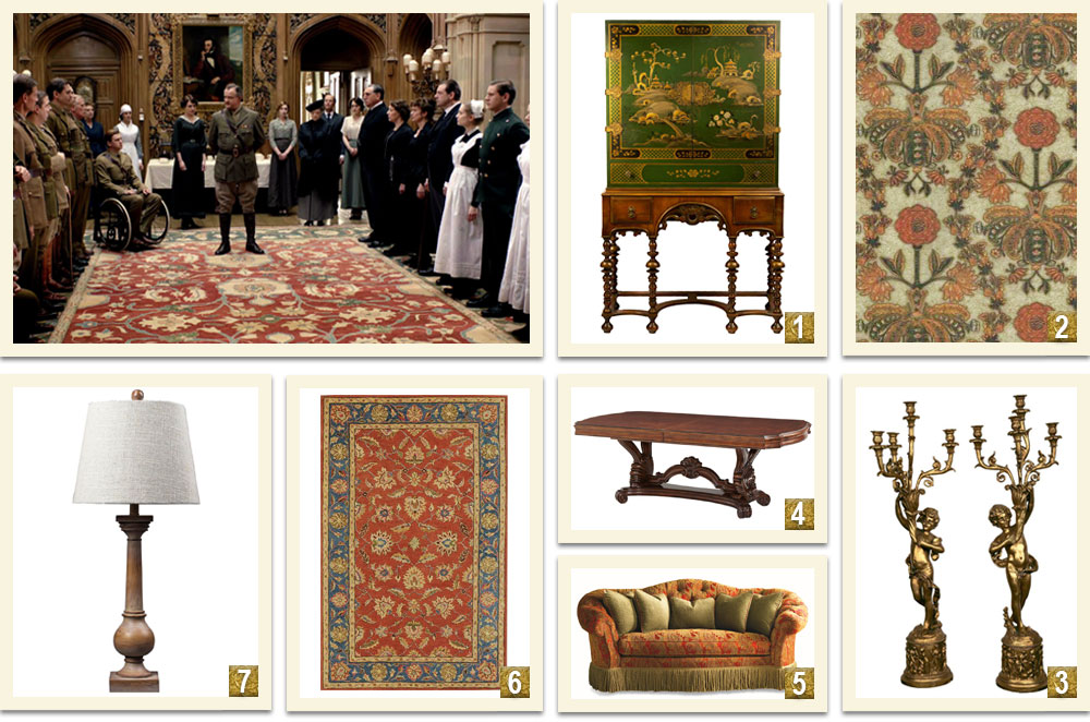 Downton-Abbey-Decor-Ideas-Inspired-By-The-Saloon
