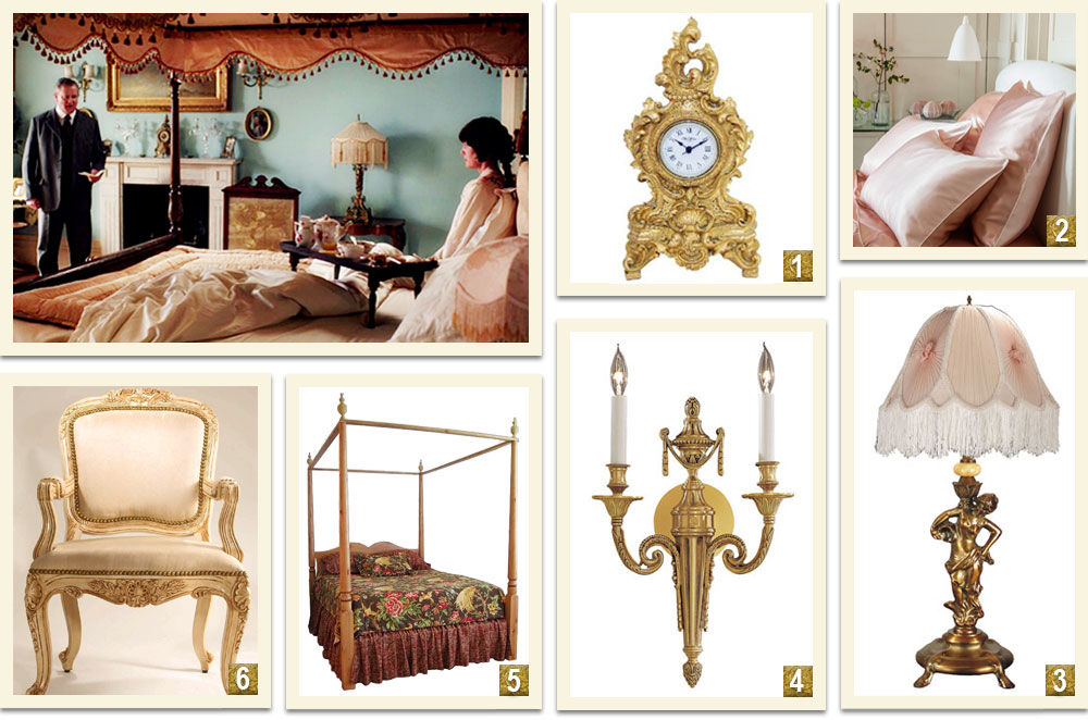 Downton-Abbey-Decor-Inspiration-Highclere-Castle-Master-Bedroom