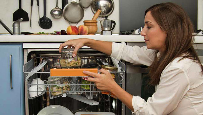 COOKING IN THE DISHWASHER