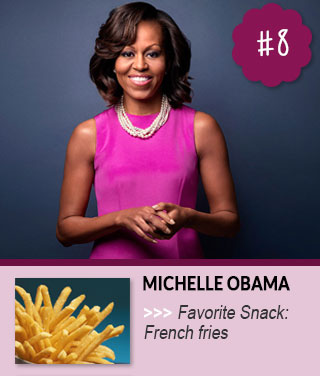 Michelle-Obama-Favorite-Snack-Foods-Of-Celebrities