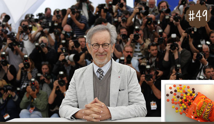 Steven-Spielberg-Loves-To-Snack-On-Reeses-Pieces-Candy