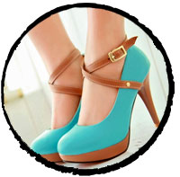 Prism-Heel-Shoes