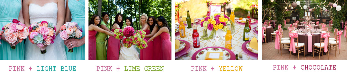 Wedding-colors-that-complement-pink