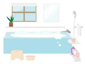 重曹をお風呂に入れる