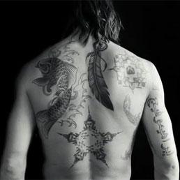 Zlatan Ibrahimovics tattoos