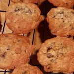 Chocolate Chip Oatmeal Walnut Cookies