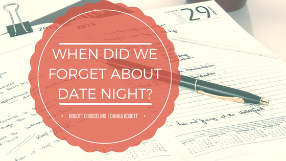 When Did We Forget About Date Night