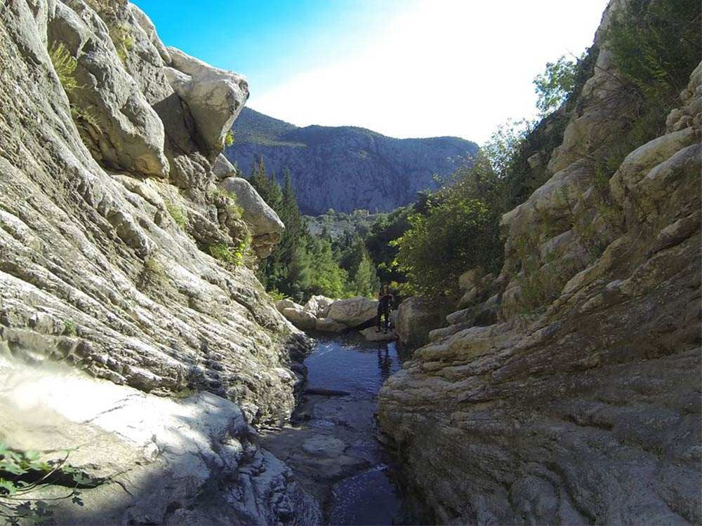 Hiking – Canyon of the Cetina river