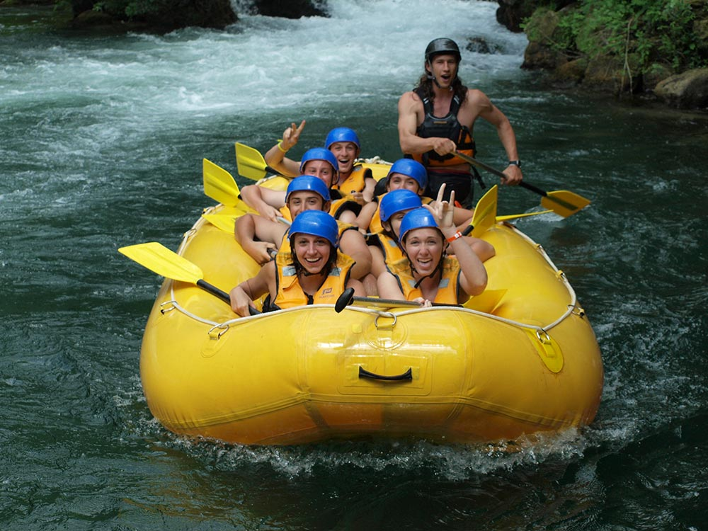 RAFTING TOUR! Go White Water Rafting on the River Cetina