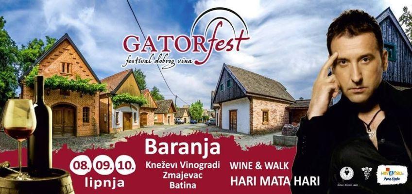 Gator Fest –  The festival of good wine in Baranja