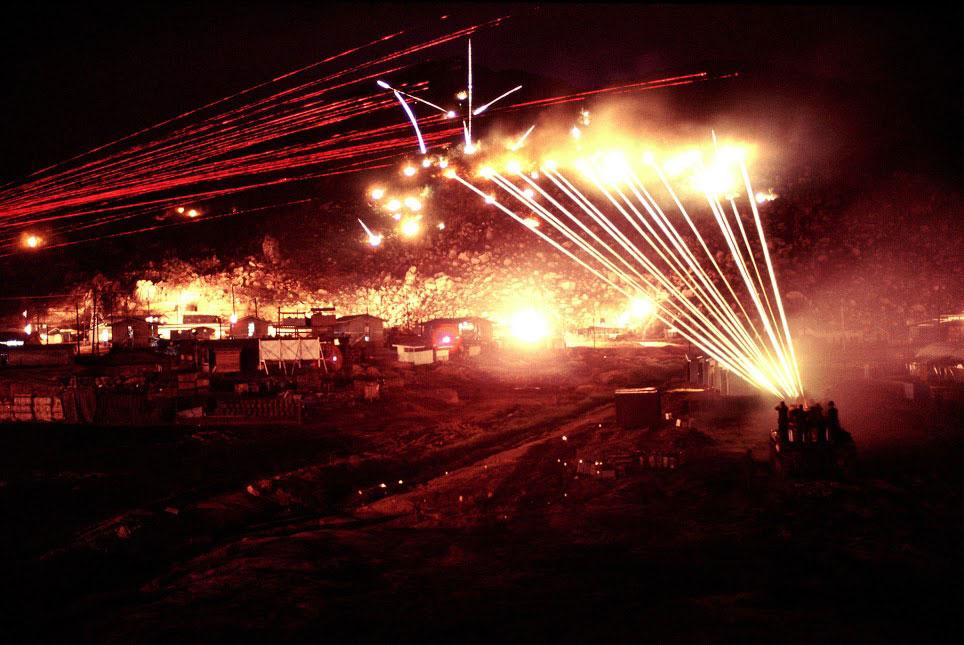 Anti-aircraft Gunfire 40 mm Anti-aircraft Bofor
