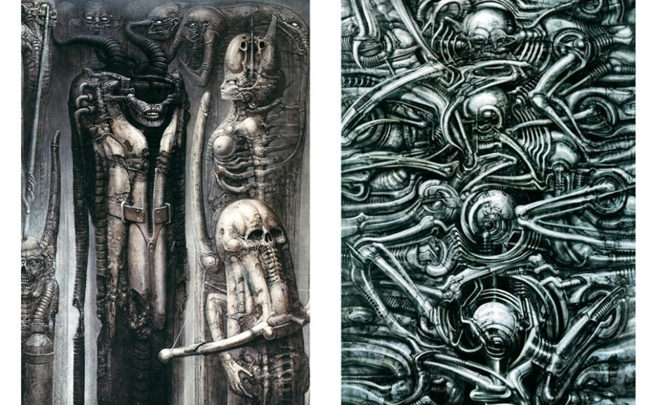 From the Taschen book of Giger art