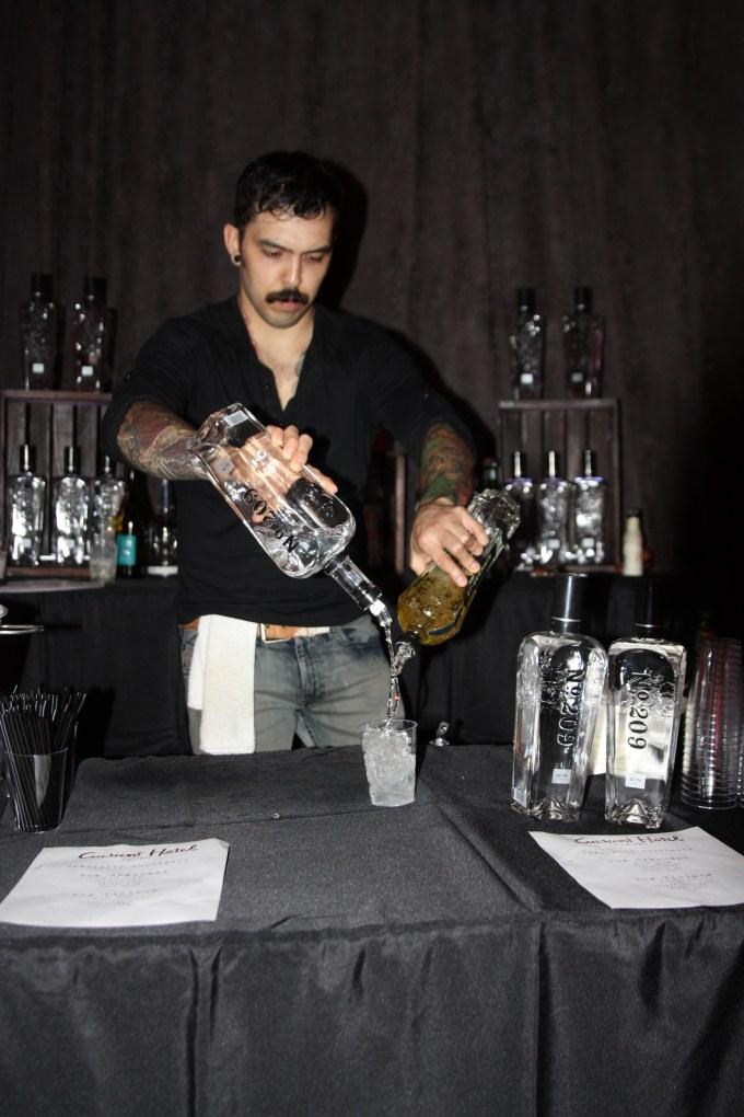 Fancy cocktails.