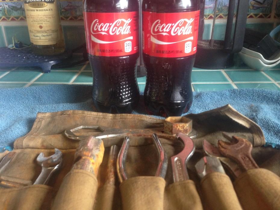 BMW tools & Coke