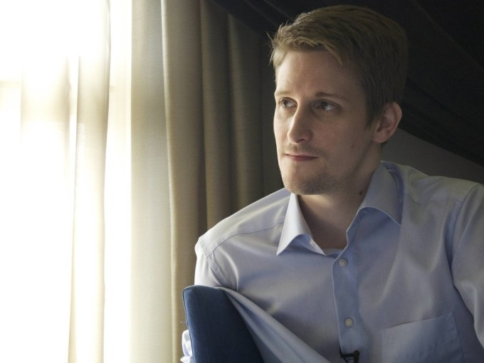 Edward Snowden. Photo: Guardian.