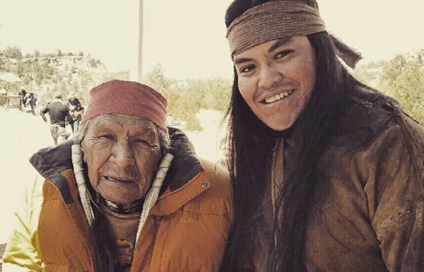 Loren Anthony and Saginaw Grant, both Native American actors. Photo: Loren Anthony,